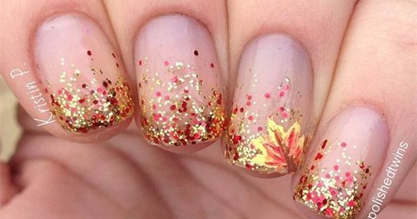 25 Stylish Fall Nail Ideas, Designs & Colors ootd nailart - http://urbanangelza.com/2015/12/09/25-stylish-fall-nail-ideas-designs-colors-ootd-nailart/?Urban+Angels