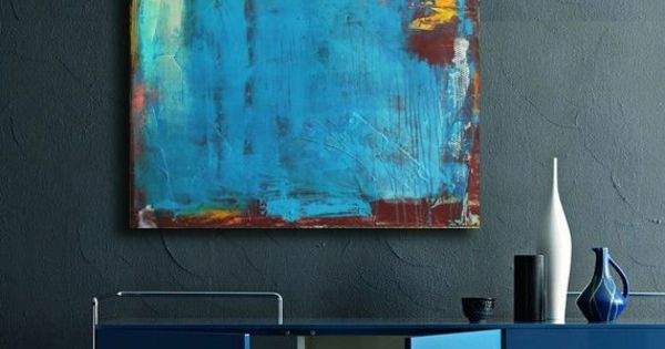 farbige wandgestaltung gr n blau wohnideen pinterest farbig wandgestaltung und gr n. Black Bedroom Furniture Sets. Home Design Ideas