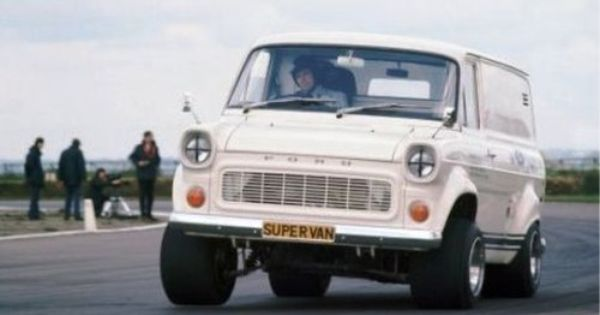 Ford Transit Mk1 Supervan Carried A Cosworth Dfv Amidships As