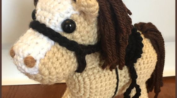 Amigurumi Cowboy : Jack the Pony PDF Crochet Pattern Amigurumi Horse and ...