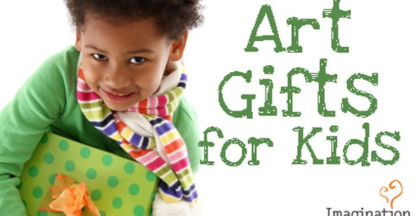 Unique gifts to inspire your young artist. kids art gifts For Midori