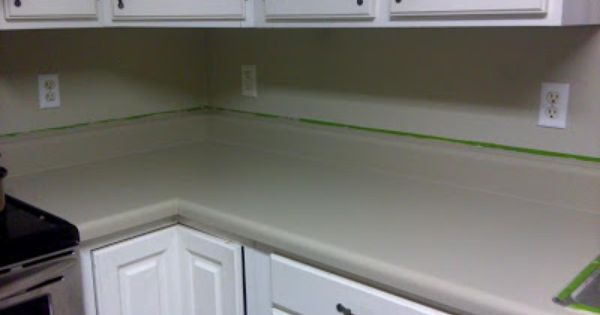 Newlywed Hares How To Paint Your Countertop Rustoleum
