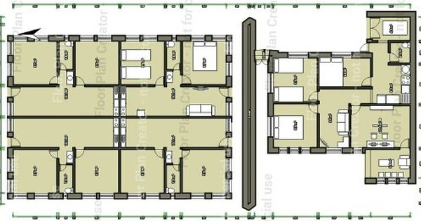 Floorplan For 38m X 13m Land 4 Rent Room 5x7 M And A House 9 5x11 M
