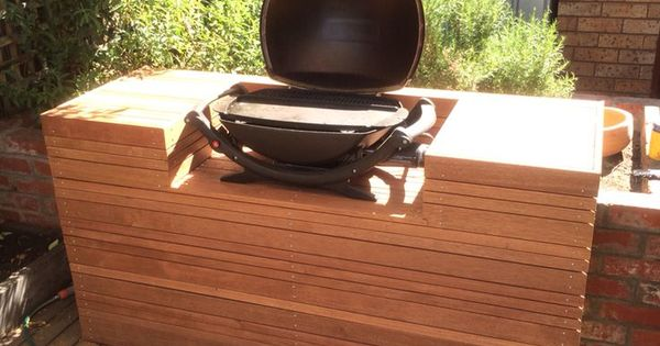 Outdoor Kitchens For Weber Q Built In Barbecue - Google Search
