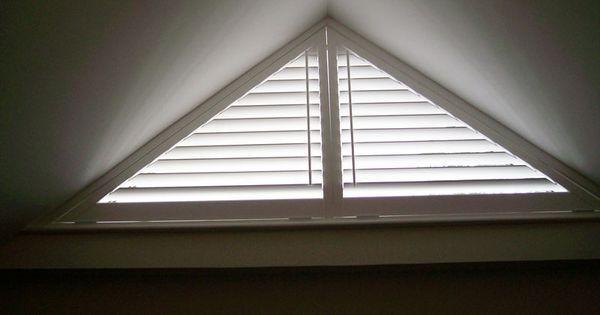 Triangle Window Coverings Window Shutters Are