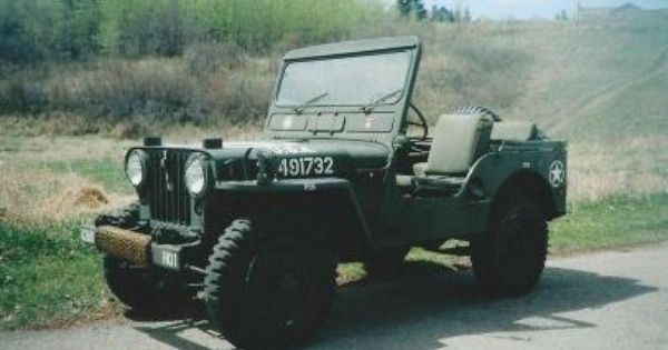 1952 Willys M38 Military Jeep For Sale Okotoks Collector Car