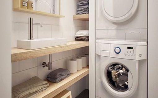 zonas de lavado y planchado en aseos lavander as