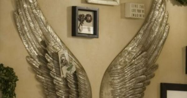 I Have These They Are Great And Look Beautiful Also You Can Always Find A Coupon Online For Thr Angel Wings Wall Angel Wings Wall Decor Angel Wings
