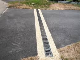 Trench Drains Trench Drain Driveway Landscaping Driveway Drain
