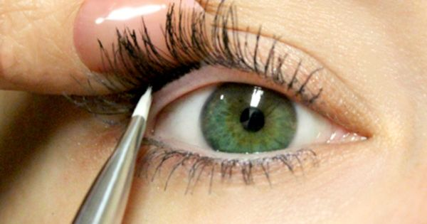 "how to: ""tightline eyes"". more natural looking eyeliner - website has lots"