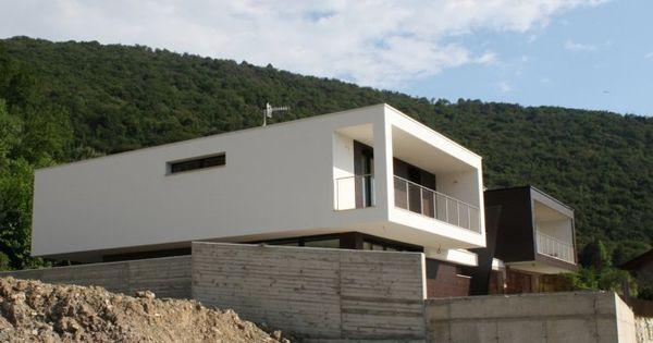 Vista esterna villa bifamiliare - progetto ville a Paratico Ville