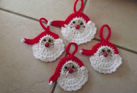 Verwonderlijk Haak patronen kerst ornamenten en kerstballen | Kerst ornament FM-78