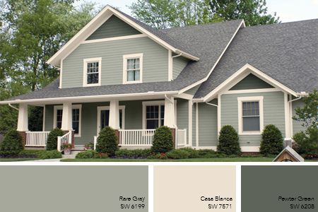 Nice Option For Exterior Color Combo2015 Popular Exterior House