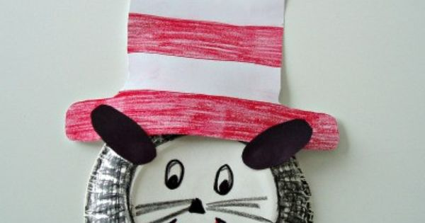 The Cat in the Hat Craft