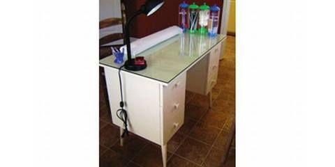 Diy Manicure Table Manicure Table Nail Salon Decor Home Nail Salon