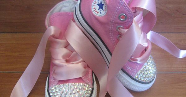 Pink AllStar Baby Shoes. When i have a baby girl first thing