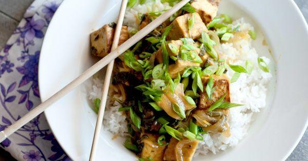 Tofu, Coconut and Food on Pinterest