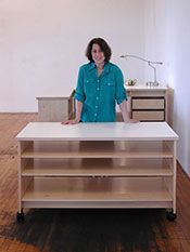 Art Storage System For The Storage Of Art Made By Art Boards Archival Art Storage Supply Art Studio Storage Art Storage Art Studio