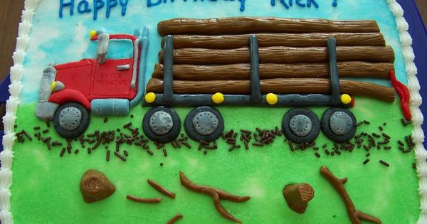 Truck Birthday Cakes Pinterest