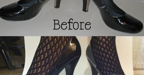 using vinyl spray paint to paint patent leather shoes craftacular. Black Bedroom Furniture Sets. Home Design Ideas