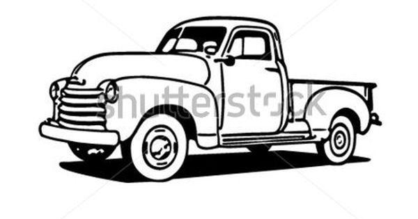 40+ Black Pickup Truck Clipart