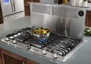 Erv3615 Dacor Renaissance 36 Epicure Raised Downdraft Vent System Stainless Steel Store Kitchen Appliances Kitchen Appliances Kitchen