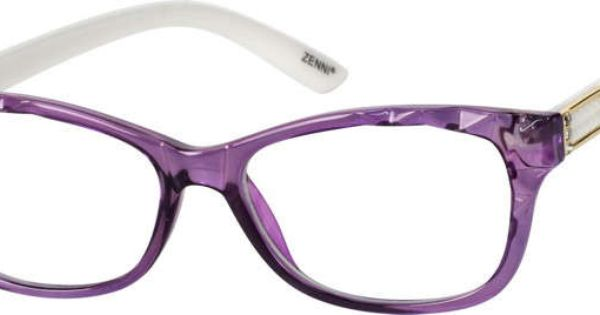 Nerd Glasses Zenni Optical : Order online, women purple full rim acetate/plastic ...