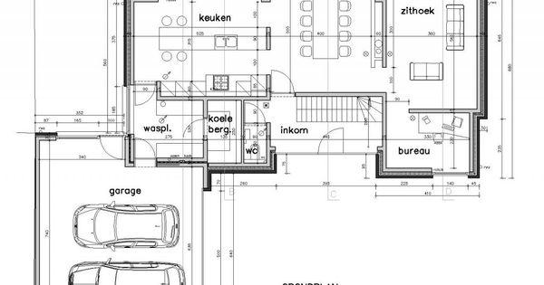 Archifolio bij de molen light pinterest house for Kostprijs huis bouwen zonder grond