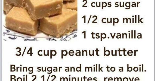 Peanut butter fudge, Fudge and Peanut butter on Pinterest
