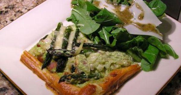 Asparagus, Zucchini and Ricotta Tart | Recipe | Ricotta, Asparagus and ...