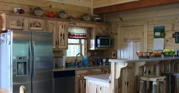 Parallel kitchen in a honest abe model kitchen ideas for Parallel kitchen ideas