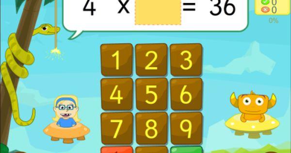 Multiplicar Y Dividir Repasa Con La App Tikimates Y Mates 678 Juegos Para Multiplicar Juegos Educativos Para Niños Tablas De Multiplicar Juegos