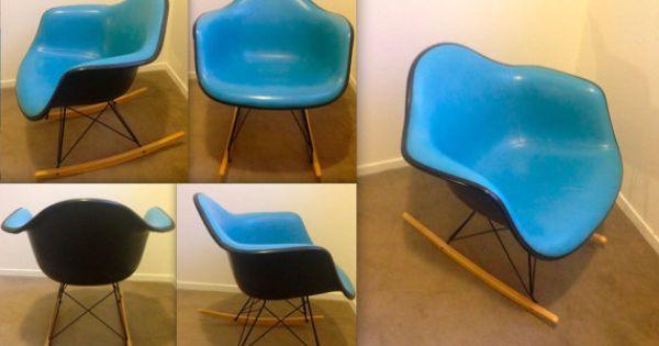 couleur rare de turquoise d 39 eames alexander girard robin egg bleu ska noir en fibre de verre. Black Bedroom Furniture Sets. Home Design Ideas