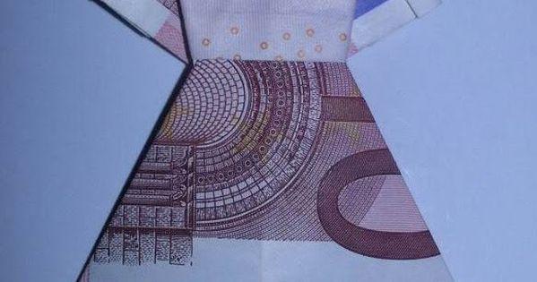 kleid aus geldschein falten geldgeschenk f r hochzeit basteln mit geldscheinen pinterest. Black Bedroom Furniture Sets. Home Design Ideas
