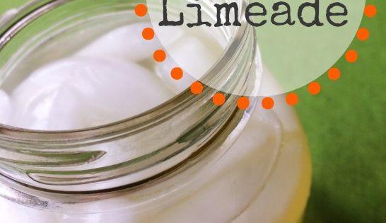 Go Girl Limeade: Homemade Energy Drink for Adrenal Fatigue