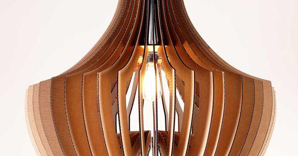 Lamp designrulz 4 decora con muebles de cart n reciclado for Amueblar piso entero