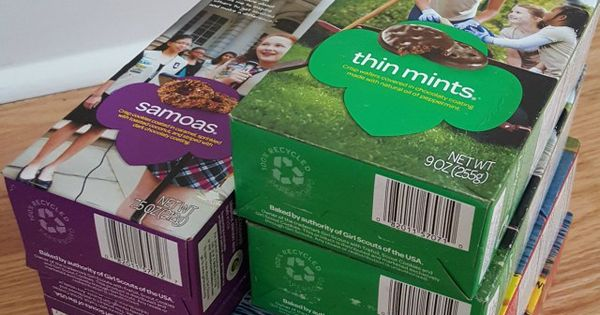 how to organize girl scout cookies   including free