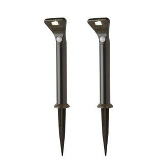 Lot De 2 Balises A Detection A Piles 80 Lm Noir Mr Beams Leroy Merlin Produits