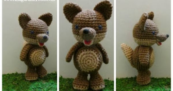 Lobo Amigurumi Tutorial : DIY Amigurumi Wolf - FREE Crochet Pattern and Video ...