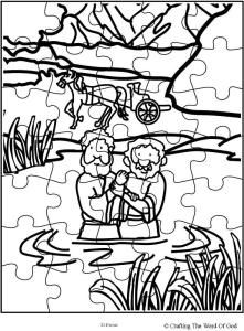 Philip And The Ethiopian Puzzle Activity Sheets Sunday School