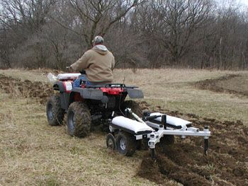 Kunz Till Ease Food Plot Cultivator Chisel Plow 543 Hobby Farms Atv Implements Atv