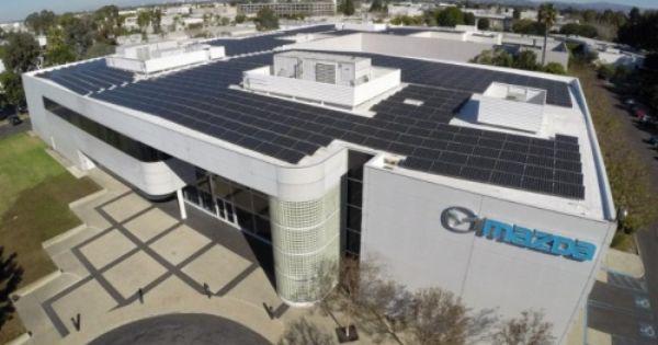 Mazda Center Goes Solar Solar Architecture Solar Solar News