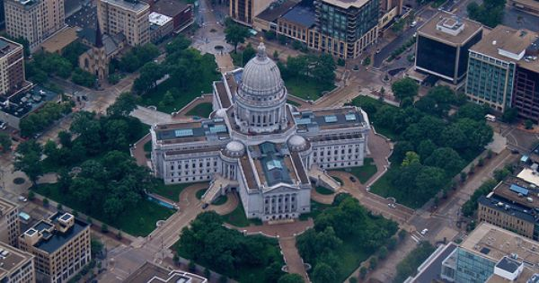 Wisconsin State Capitol Madison Wisconsin Wausau Wisconsin