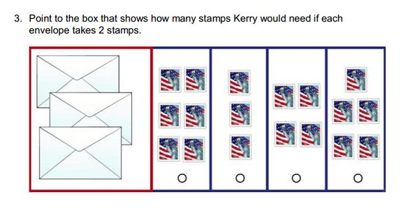 how many stamps does it take to mail a letter point to the box that shows how many stamps kerry would 22199 | 5eaac90d70a4c4cc12d83ae70bf10e2f