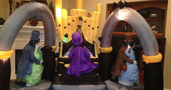 used halloween inflatables