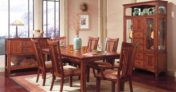American Furniture Warehouse Virtual Store 17421 4 17424 17421 5pc Mission Hills Leg
