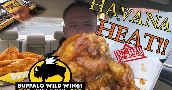 buffalo wild wings new flavor havana heat chicken wings food review nutrition. Black Bedroom Furniture Sets. Home Design Ideas