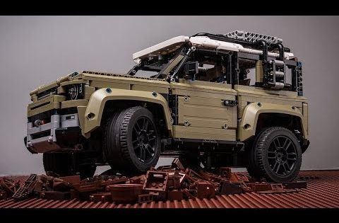 Lego 42110 Land Rover Defender Unbox Build Review Youtube Land Rover Defender Land Rover Lego Technic