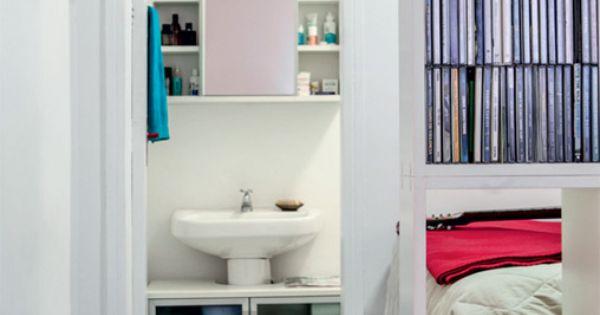 Armario Em Baixo Da Pia : Arm?rio encaixado no banheiro em baixo da pia apartamento