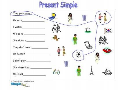 fun activities for english lessons for present simple | Educación ...